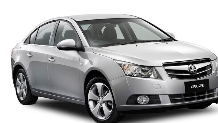 2009 Holden Cruze CDX Side Front Pose In Grey